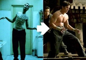 Christian Bale in the Machinist