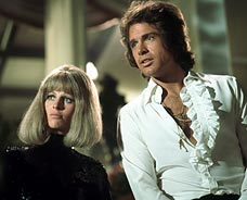 Julie Christie and Warren Beatty in Shampoo