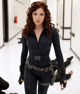Scarlett Johansson Boobs Black Widow Avengers