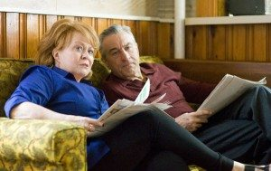 Robert DeNiro and Jacki Weaver in Silver Linings Playbook