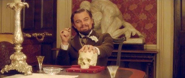 Django Unchained Leonardo DiCaprio Skull Phrenology