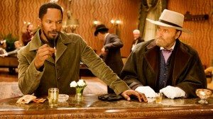 Django Unchained, Jamie Foxx and Franco Nero