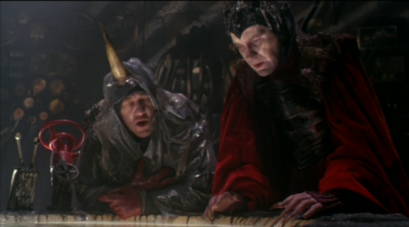 Time Bandits David Warner Evil Genius Stand By for Mind Control
