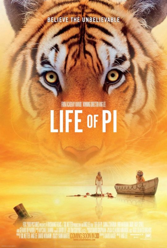 Life of Pi poster