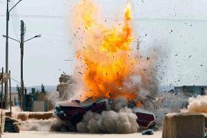 Zero Dark Thirty explosion