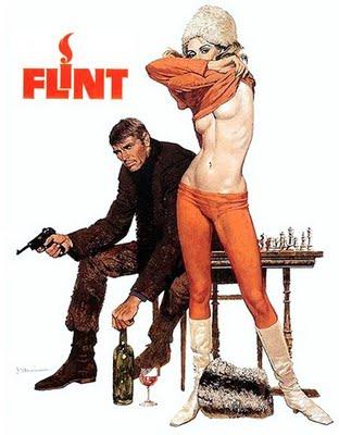 In Like Flint sexy topless