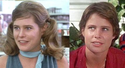 Sarah Holcomb in Animal House and Caddyshack
