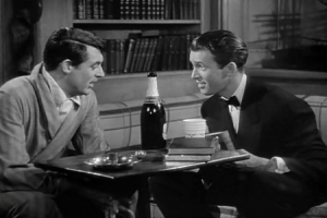 Jimmy Stewart is an excellent drunk