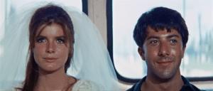 Graduate Katherine Ross Dustin Hoffman bus