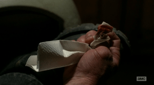 Breaking Bad Season 5 Episode 11 blood on shoe