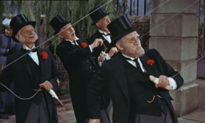 mary poppins kite flying bankers