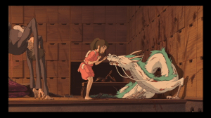 Chihiro and the friendly dragon