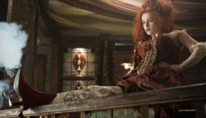 Helena Bonham Carter shows up with a scrimshaw leg sporting more firepower than you'd expect