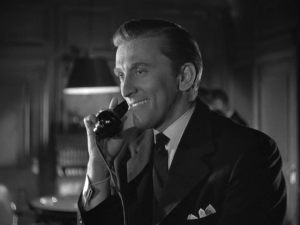 Kirk Douglas, so charming back in the day