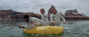 planet of the apes life raft