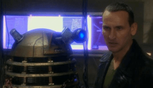 The Doctor meets a Dalek