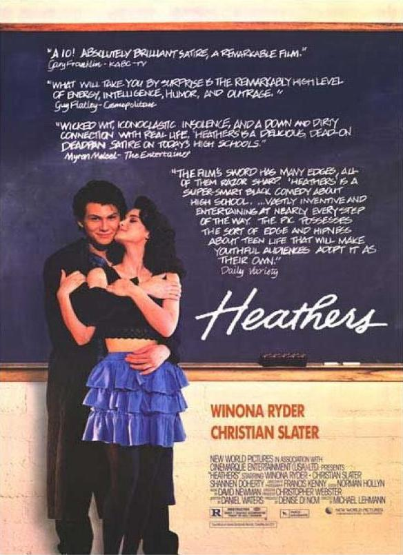 Heathers movie poster
