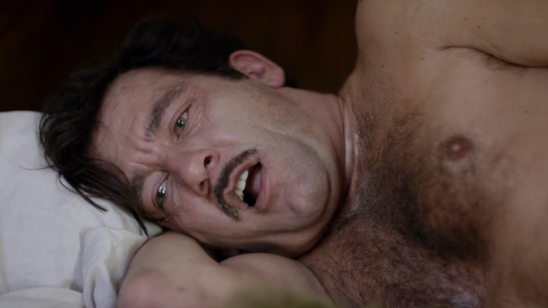 Knick Clive Owen injecting cocaine penis