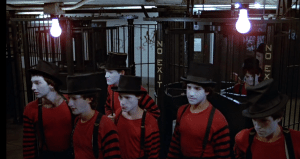 If you run into the mimes — helpful hint — try trapping them in an invisible box.