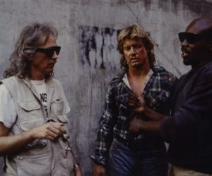 John Carpenter directs the fight