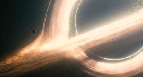 Gargantua, the big black hole alien elevator system