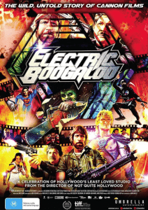 electric boogaloo the untold story cannon poster