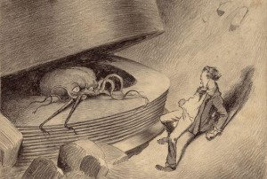 War of The Worlds: don't poke it!