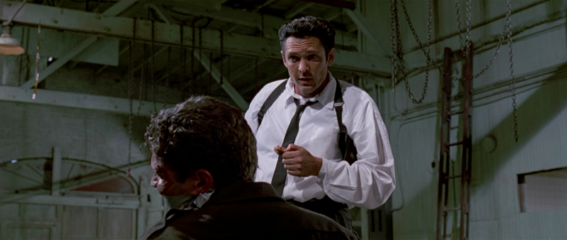 an analysis of mr blonde in reservoir dogs In reservoir dogs : mr blonde drinks a soda from big kahuna in four rooms : there is a big kahuna soda next to the package of red apple's in pulp fiction : brett and jules eat a big kahuna burger and drink sprite.