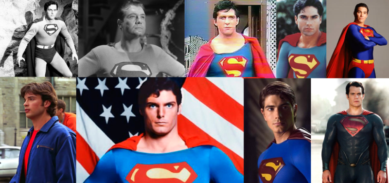 You are damn right Christopher Reeve has the biggest picture!
