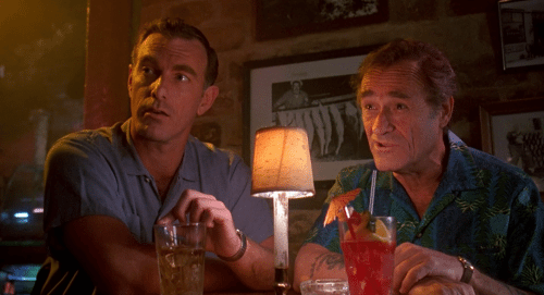 John Sayles and Dick Miller in Dante's Matinee